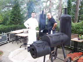 Oklahoma Joe smoker barbecue